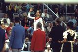 Russian Gymnast Olga Korbut Winner at the 1972 Summer Olympic Games in Munich, Germany Fotografisk trykk av John Dominis