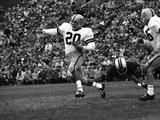 Minnesota- Iowa Game and Football Weekend, Minneapolis, Minnesota, November 1960 Fotografisk tryk af Francis Miller