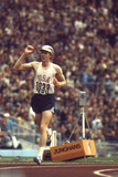 Us Dave Wottle, Gold-Medalist 800 Meter Run at the 1972 Summer Olympic Games in Munich, Germany Stampa fotografica di John Dominis