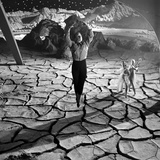 Unidentified Actor on Set of Film 'Destination Moon', 1950 写真プリント : アラン・グラント