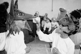 Children Chorus, Aldeburgh Festival, Suffolk, England, June 1958 Fotografisk trykk av Mark Kauffman