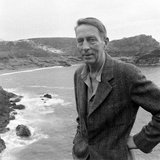 Poet Robinson Jeffers, Big Sur, California April 1948 Reproduction photographique par Nat Farbman