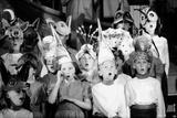 Children Chorus, Aldeburgh Festival, Suffolk, England, June 1959 Fotografisk trykk av Mark Kauffman