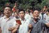 Chinese Youth Protesting Economic Conditions in Hong Kong, 1967 Photographic Print by Co Rentmeester