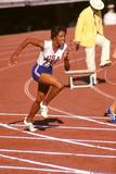 American Sprinter Edith Mcguire at Tokyo 1964 Summer Olympics, Japan Fotografisk trykk av Art Rickerby