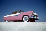 Low-Angle View of a 1954 Ford Fairlane Automobile Photographic Print by Yale Joel