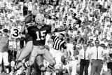 Quarterback Bart Starr of Green Bay Packers at Super Bowl I, Los Angeles, CA, January 15, 1967 Fotografie-Druck von Art Rickerby