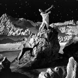 Unidentified Dancers on Set of Film 'Destination Moon', 1950 写真プリント : アラン・グラント