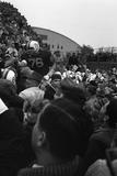 Spectators at the Minnesota- Iowa Game, Minneapolis, Minnesota, November 1960 Fotografisk trykk av Francis Miller