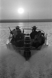 Police Patroling the Waters Between Mexico and the Texas, Us Looking for Marijuana Smugglers Photographic Print by Co Rentmeester