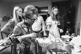 Ford Modeling Agency Owner, Eileen Ford Cooks with Models in Her Mansion, New York, 1970 Photographic Print by Co Rentmeester