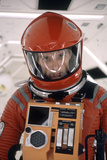"""Actor Keir Dullea in Space Suit in Scene from Motion Picture """"2001: a Space Odyssey."""", 1968 Impressão fotográfica por Dmitri Kessel"""