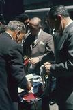 Men Sort Through Neckties in a Vendor's Trunk in the Garment District, New York, New York, 1960 Photographic Print by Walter Sanders