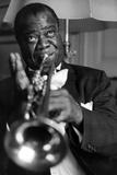 Louis Armstrong Photographie par  Globe Photos LLC