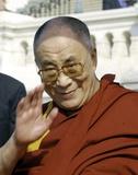 Dalai Lama, på engelsk Foto af  Globe Photos LLC