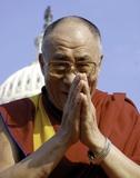 Levenswijsheden Dalai Lama, Engelse tekst: A to Zen life Foto van  Globe Photos LLC
