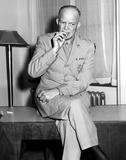 Dwight D. Eisenhower Foto af  Globe Photos LLC