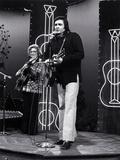 Johnny Cash Foto di  Globe Photos LLC