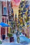 Fascinating Palermo Sicily Italy Street Scene Affiches par Markus Bleichner
