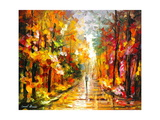 After The Rain Stampa di Leonid Afremov