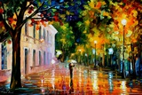 City Of Destiny Láminas por Leonid Afremov