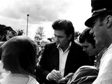Johnny Cash Photographie par  Globe Photos LLC