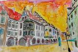 Munich Hofbrauhaus Sunset Am Platzl Affiches par Markus Bleichner