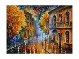Etude in Red Poster di Leonid Afremov