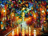 Farewell To Anger Poster by Leonid Afremov