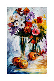 Flower Arrangement Láminas por Leonid Afremov