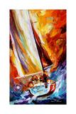 Into The Sea Kunstdruck von Leonid Afremov