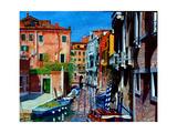 Venice Canal, Dorsoduro, August 2016 Reproduction procédé giclée par Anthony Butera