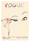 Vogue Magazine Cover - February 15, 1935 Plakat af Carl Erickson