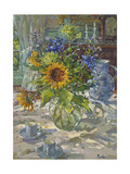 Sunflowers Giclee Print by Susan Ryder