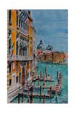 Venice, View from Academia Bridge, June 2016 Reproduction procédé giclée par Anthony Butera
