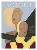Vogue Magazine Cover - January 1, 1931 Prints by Eduardo Garcia Benito