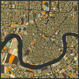 New Orleans Map Affiches par Jazzberry Blue