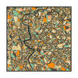 Rome Map Posters by Jazzberry Blue