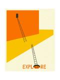 Esplorazione Poster di Jazzberry Blue