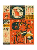 Alice nel paese delle meraviglie Poster di Jazzberry Blue