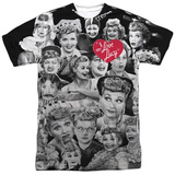 I Love Lucy- Faces Sublimated