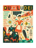 Q is for Quaalude Láminas por Jazzberry Blue
