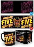 Five Night At Freddy's Heat Change Mug Becher
