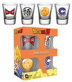 Dragonball Z Shot Glass Set Gadgets