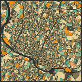Austin Map Affiches par Jazzberry Blue