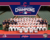 Cleveland Indians 2016 American League Champions Team Sit Down Photo