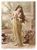 Classic Vintage Hand-Colored Nude Art - Beautiful Belle Époque Erotica Pósters por  Studio NPG