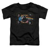 Toddler: Pink Floyd- Distressed Dark Side Band Stamp T-shirts