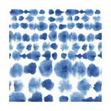 Indigo Tie Dye II Art par Aimee Wilson