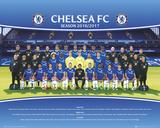 Chelsea FC- Team Photo 16/17 Prints